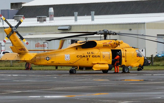 The Centennial Of Coast Guard Aviation Kicks Off With This Sweet Retro MH-60T Jayhawk