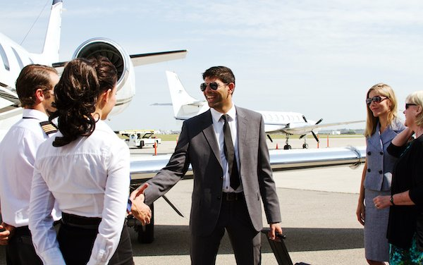 The development of ultra-luxury segment in the booming private jet market