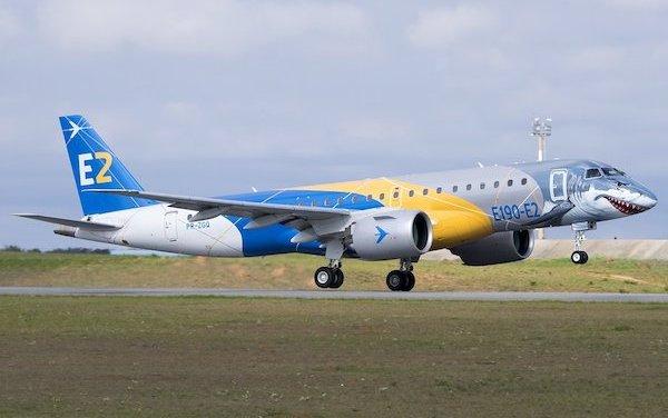 """The Embraer """"Shark"""" E190-E2 Jet Completes World Tour"""