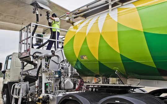 The expansion of Air BP carbon offset program for business aviation