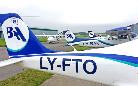 The first ENAC partner to provide flight training in Europe - BAA Training