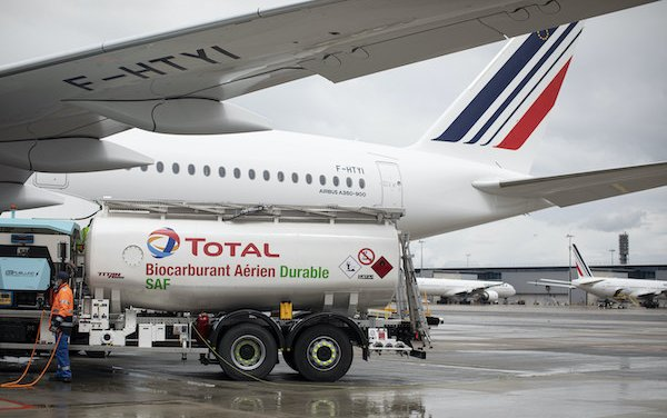 The first long-haul flight powered by sustainable aviation fuel produced in France