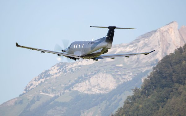 The first Pilatus PC-12 NGX in the UK - placed by Oriens Aviation
