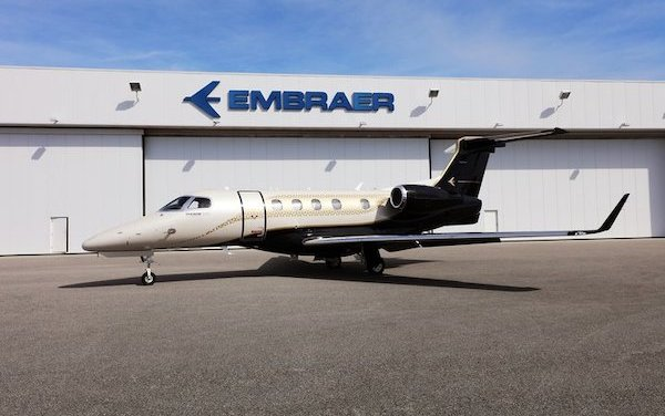 The first single-pilot jet to reach Mach 0.80 - Embraer Phenom 300E