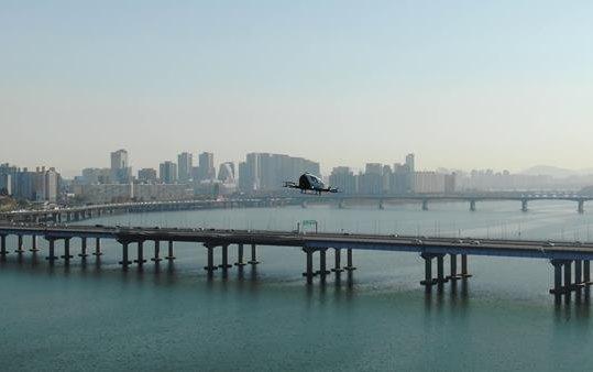 The first step toward future UAM operations - EHang 216 Korean Flight Tour