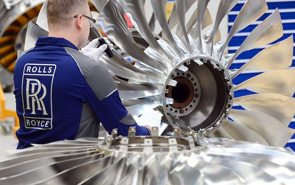 The first time for most powerful Rolls-Royce business aviation engine