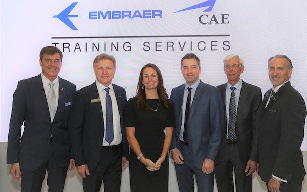 The launch a new Phenom 300 full-flight simulator for U.S. market - Embraer & CAE