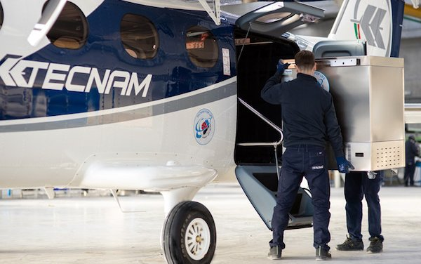 The most advanced solution yet for Covid vaccine distributors – Tecnam Aircraft help anywhere in the World