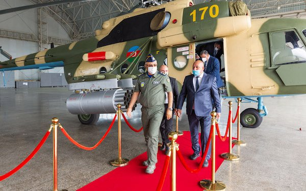 The overhaul of another Mi helicopter completed in Azerbaijan
