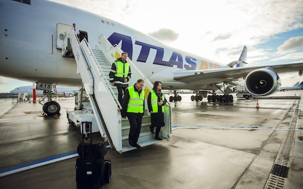 The Specialized Cargo Apron Starts Operating at Riga Airport