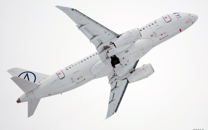The SSJ 100 program was presented at the FIDAE-2018 air show