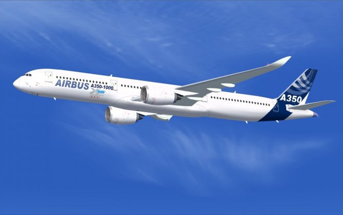 The stretch version of the A350 expected in 2017
