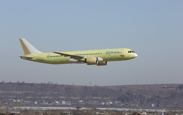 The third MC-21-300 aircraft joined the flight test program