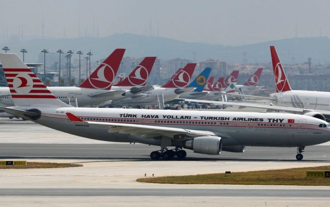 The US government has banned flights to and from Turkey