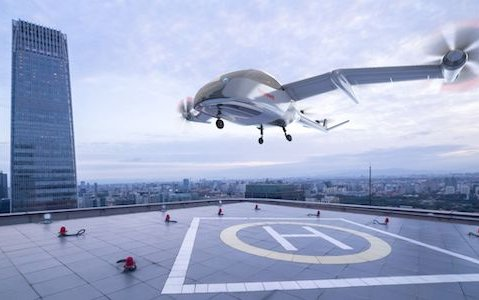 The way to bring autonomous landing capabilities to Urban Air Mobility - Honeywell