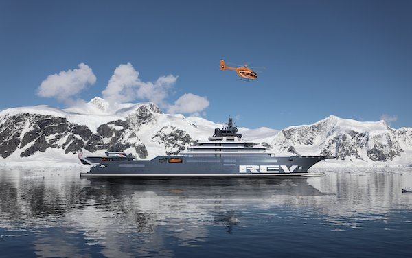 The world's largest superyacht and Airbus Helicopters