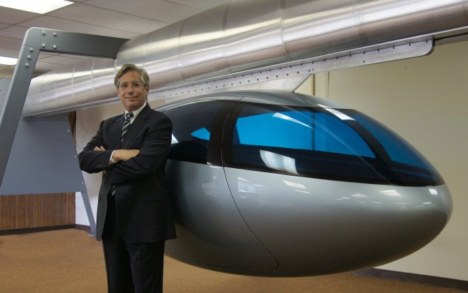 These futuristic flying pods could make driving history