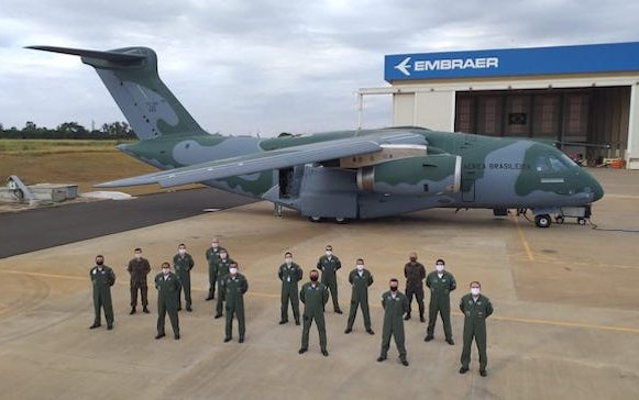 Third C-390 Millennium delivered to the Brazilian Air Force