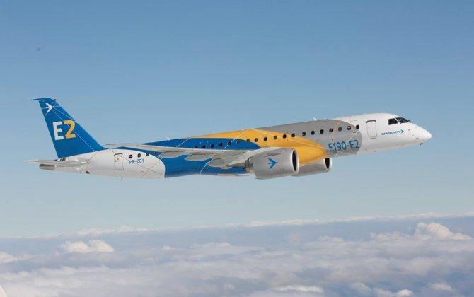 Third E190-E2 takes to the skies