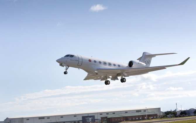 Third Gulfstream G600 joins flight-test program