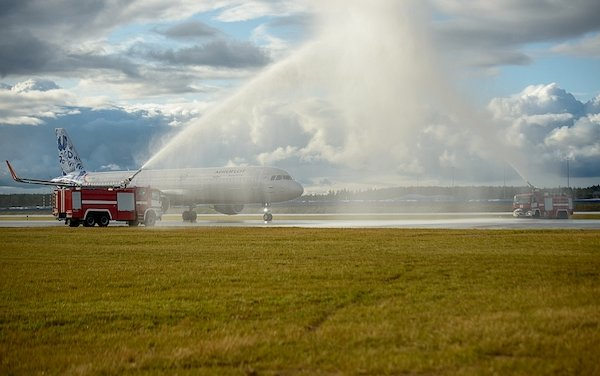 Third runway is operational at Sheremetyevo International Airport