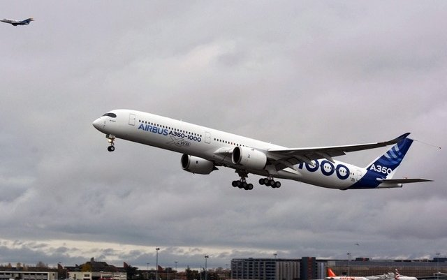 Third stretched Airbus A350 test plane to join flight trials
