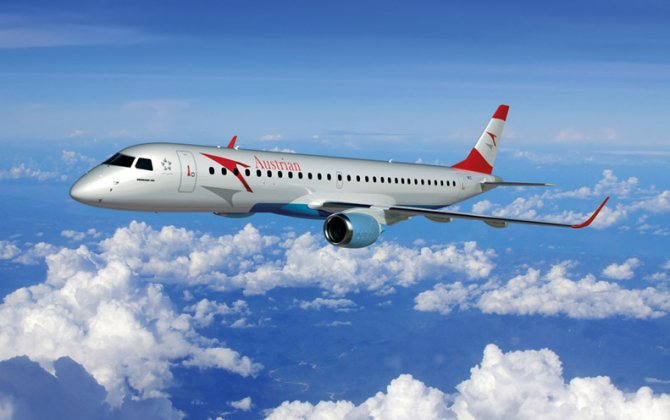 Thirteenth Austrian Embraer OE-LWE Took Off on Maiden Flight
