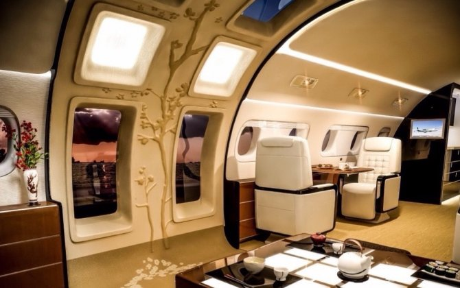 This beautiful new plane has a feature that's unlike anything we've ever seen