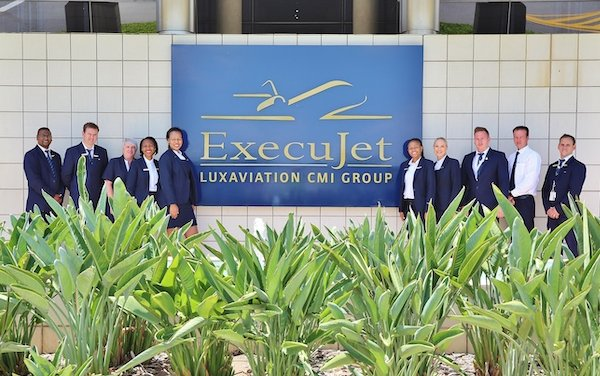 Three categories finalist at the 2019 SACAA Awards - ExecuJet