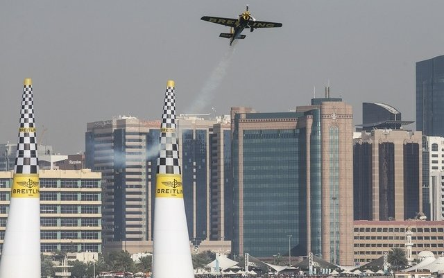 Thrills as daredevils soar over Abu Dhabi