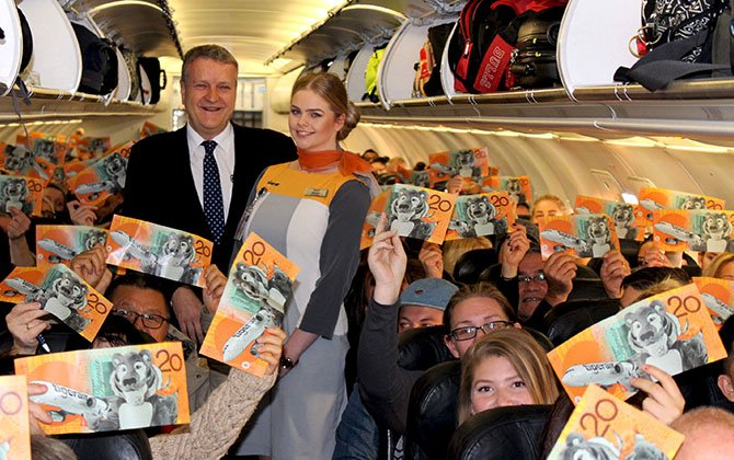 Tigerair Australia celebrates 20 millionth passenger
