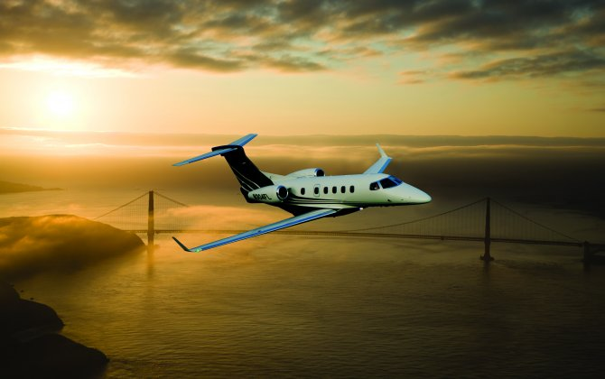 Titan Airways acquires brand new Phenom 300