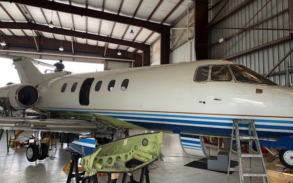 TMx Aero new capabilities - Falcon 50 and Hawker 800 added