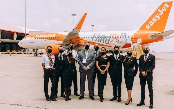 To boost tourism & economy - easyJet new seasonal base at Faro airport