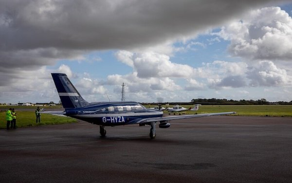 To speed up the switch to hydrogen-powered passenger aircraft British Airways teamed up with ZeroAvia