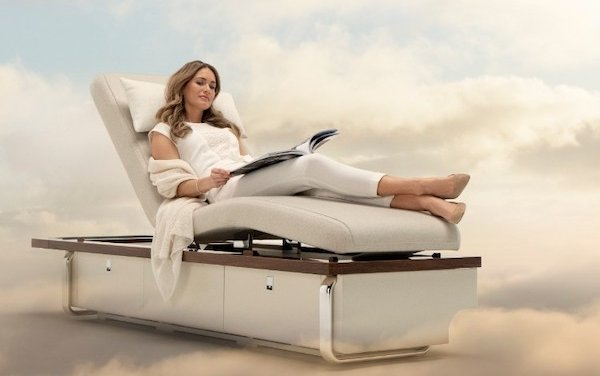 Top Design Award goes to Nuage Seating Collection on Bombardier Global Aircraft