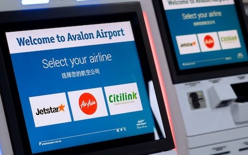 Touchless airport check-in: first in Australia at Avalon Airport