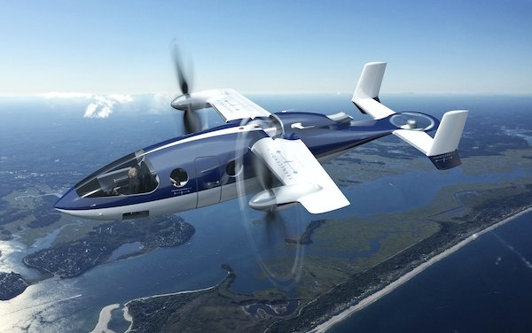 Transcend Air agrees with GE Aviation as engine supplier for Vy 400 High Speed VTOL aircraft