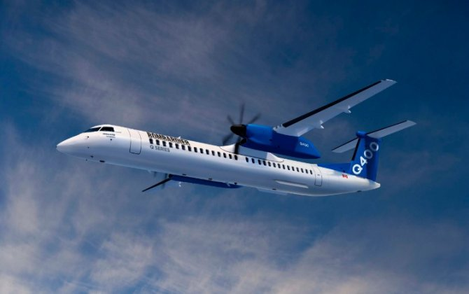 Transport Canada Certifies 90-Seat Cabin Configuration for Bombardier's Q400 Aircraft