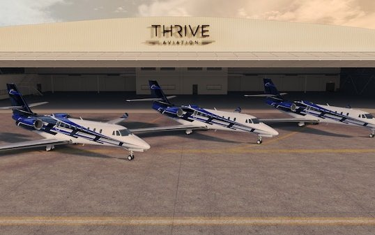 Triple delivery for Thrive Aviation by Textron Aviation