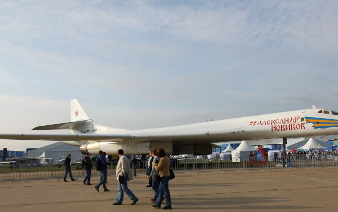 Tu-160 strategic bomber received  after upgrade