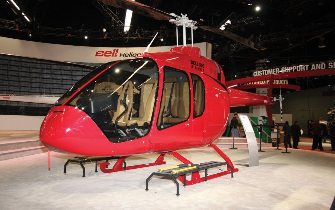 Two Corporate Customers in Chile Sign Letter of Intent for the Bell 505 Jet Ranger X