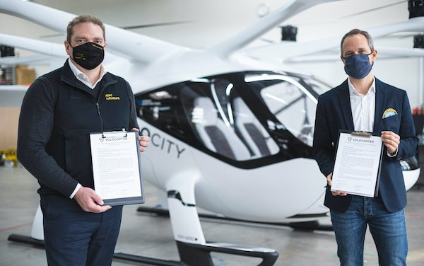 Two Volocopter VoloCity reserved by ADAC Luftrettung