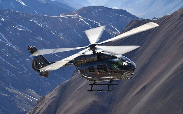 Type certification by EASA granted to five-bladed H145