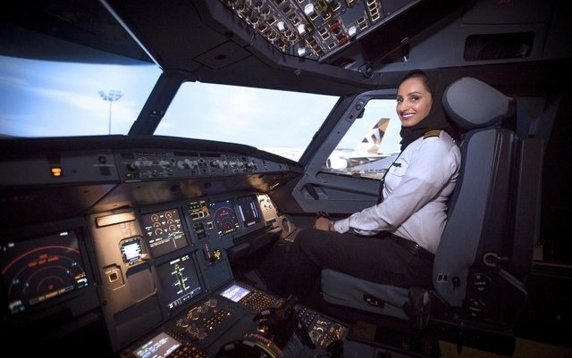 UAE's first female A380 pilot aims to fly high