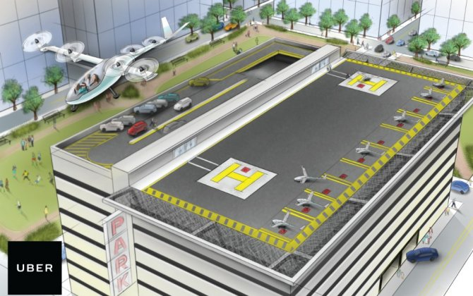 Uber hires NASA aircraft engineer to help develop flying cars at Uber Elevate