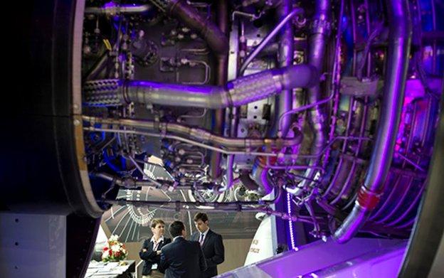 UEC Shows Latest Russian Civil Aero Engines at Paris Air Show