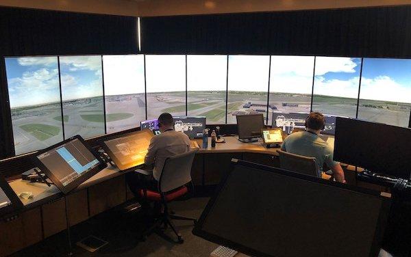 UK first simulator-based Air Traffic Control Full Unite training - ANSL
