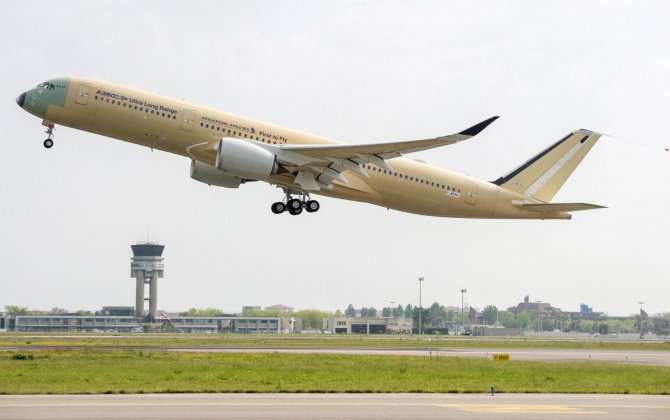 Ultra Long Range A350 XWB completes first flight