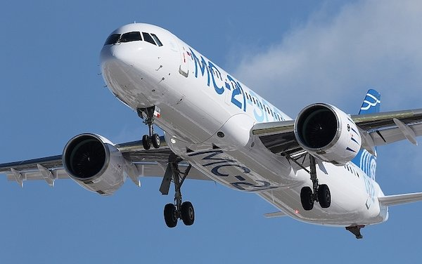 United Aircraft Corporation plans to manufacture six MC-21 planes in 2021